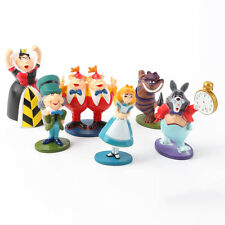 Alice in Wonderland Cake Topper Figure Decoration Birthday Characters Gifts Toys