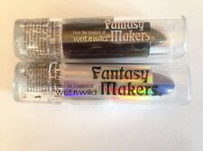 Set of 2 Fantasy Makers Wet N Wild Blue Magic Black Lipstick Halloween Costume