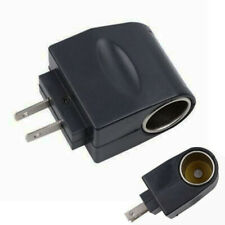 AC US Plug Wall Power to DC Car Charger Cigarette Converter Adapter RF Lighter