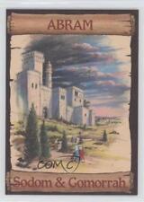 1989 re-Ed Bible Cards Abram #5 Sodom & Gomorrah Non-Sports Card 0q3