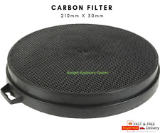 UNIVERSAL CARBON FILTER X 1 WITH LUGS FOR COOKER HOODS  210mm X 30mm