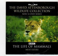 (EZ229) David Attenborough Wildlife Collection, Meat Eaters - DVD