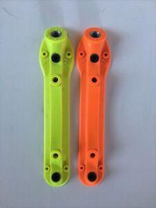 Vintage Sure Grip Probe Roller Skate Base Plates Size 8 Unmatched colors