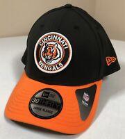Cincinnati Bengals Hat Adult Large XL New Era NFL Black Baseball Cap