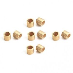 """NSR 4815 3/32"""" Brass Axle Spacers 0.80""""/2.00mm 10/pk"""