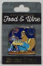 Disney Epcot Food & Wine 2016 Kronk & Yzma Emperors New Groove 3-D Pin LE 3000