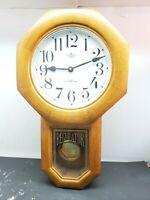 D & A Westminster Chimes Pendulum Quartz Wall Clock