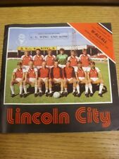26/12/1983 Lincoln City v Walsall  (Light Crease). Thanks for viewing this item