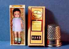 Dollhouse Miniature 1:12  Patsy Ann Doll Box 1920s dollhouse girl nursery