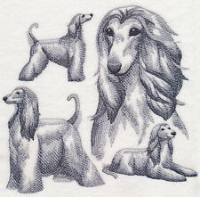 New listing Afghan Hound Sketch Personalized Sweatshirt Embroidered All Sizes