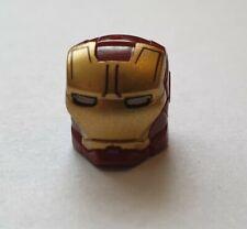 Iron Man Helmet - TONY STARK - IRON MAN MINIFIGURE HELMET - UNBRANDED