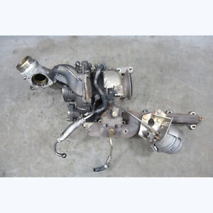 2009-2013 BMW E70 X5 3.5d Diesel M57 Big Low Pressure Turbocharger Assembly OEM