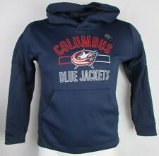 Columbus Blue Jackets adidas Climawarm Pullover Hoodie NHL Women's Navy
