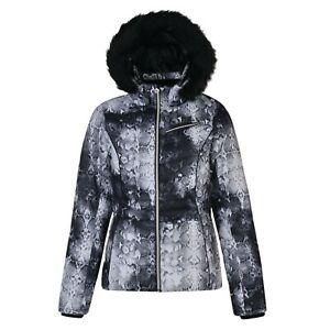 Dare 2b Women's Glamorize Faux Fur Luxe Ski Jacket