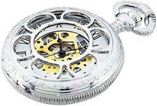 "Kansas City Railroad Pocket Watch Limited Edition Timepiece 26"" Chain Fob Quartz"