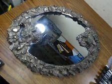Vintage Vanity Mirror/Perfume Tray Brass Hallmarked Martin Hall