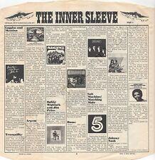 """Vintage INNER SLEEVE or SLEEVES 12"""" CBS Advertising 'K' ISSUE II x 1"""