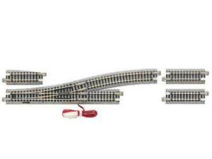 Kato 20-220 N Gauge Unitrack (EP481-15L) L/H Electric Turnout 15 Degree
