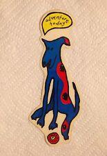 Vintage skateboard sticker foundation swank junior SMA blind natas mark NOS 1
