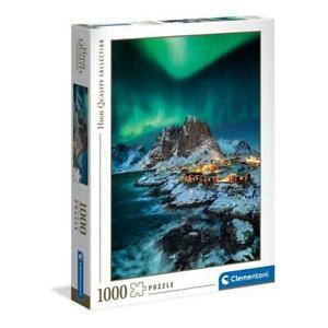 puzzle Clementoni 1000 pezzi LOFOTEN ISLANDS High Quality 69 x 50 39601 OMAGGIO