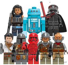 8 Pcs Minifigures lego MOC Star War Poe Dameron The Man Rhoda Sith Trooper
