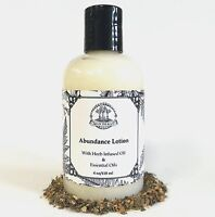 Abundance Hand & Body Lotion for Prosperity Success: Hoodoo Voodoo Wiccan Pagan