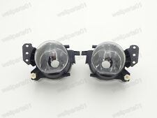 1Pair Fog Lights Clear Lens Front Lamps For BMW 5-Series E60 2004-2007
