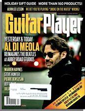 Guitar Player Magazine - 2013, Holiday - Al Di Meola, 16 Product Tests