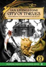 Official Fighting Fantasy Colouring Book 4: City of Thieves (official fighting F