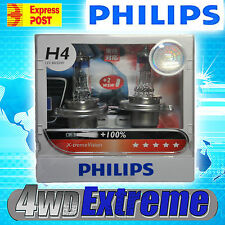 NEW MODEL PHILIPS +100% H4 XTREME VISION PAIR OF GLOBES