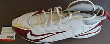 JIM HARBAUGH Nike Speed Football Signed Shoe Auto PSA/DNA Certified Stanford