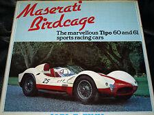 Maserati birdcage tipo 60 61 joel e finn osprey 1980 nurburgring 1000KM sebring