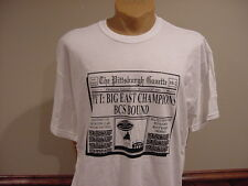 AWESOME PITT Panthers 2009 Big East Football Champs T-Shirt, SUPER NICE!!
