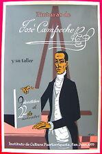 Lorenzo Homar 1959 Pinturas De Jose Campeche Poster Serigraph ICP Puerto Rico
