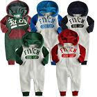"Vaenait Baby  Fleece Hoodie Jumpsuit Onepiece Bodysuit  ""33X-Hoodie"" 6-24M"