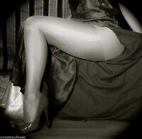 Glossy Tights - Sexy, Shiny, Sheer Pantyhose (Sizes & colours!) 10 Denier