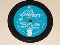 PATIENCE & PRUDENCE The Money Tree/ Gonna Get Along Without Ya Now 78 Liberty