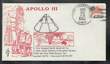 Rocket Mail Raketenpost / Space Cover /  Apollo III / Fully Equipped Spacecraft