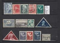 STAMPS LOT NETHERLANDS USED (L35465)