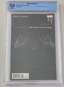BLACK PANTHER 1 CBCS (like CGC) 9.8 WHITE PGS HIP HOP VARIANT JAY Z BLACK ALBUM