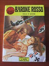 """FERDINANDO TACCONI """" BARONE ROSSO VOLA E UCCIDI """" SESSO E GUERRA # 1 (1973) RARO"""