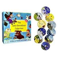 Julia Donaldson Collection 10 Audio CD Books Set Stories & Songs Gruffalo, Child