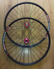 "27.5"" DT Swiss 533d Disc Rims, Red Novatec D791SB D792SB Hub Wheelsets"