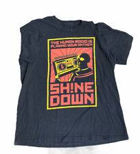 Shinedown Band concert tour shirt See Pictures For Measurements