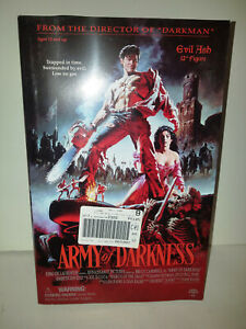 """Army Of Darkness Ash vs Evil Ash & 12"""" Ash Sideshow Figure 2002"""