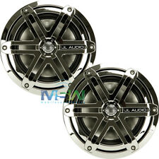 "JL AUDIO MX650-CCX-SG-CR 6.5"" 2-WAY MARINE COAXIAL SPEAKERS SPORT GRILLES CHROME"