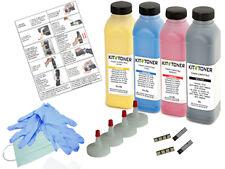 SAMSUNG CLP 315W - 4 x Kits de recharge toner compatibles Noir, Cyan, Jaune, Ma