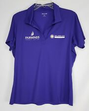 Fairwinds Women's Orlando City Foundation Soccer Polo Shirt Top Size L