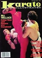 7/82 KARATE ILLUSTRATED MAGAZINE BILL WALLACE KUNG FU BLACK BELT MARTIAL ARTS