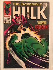 INCREDIBLE HULK #107 (Marvel Comics 1968) Mandarin Appearance FREE SHIPPING! VF-